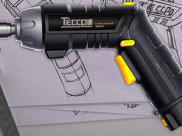 Visseuse sans fil TDSC01P TECCPO